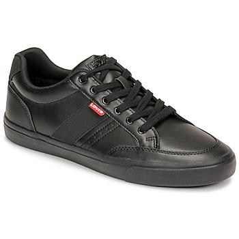Παπούτσια Άνδρας Χαμηλά Sneakers Levi's TURNER 2.0 Black