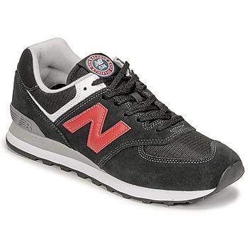 Παπούτσια Άνδρας Χαμηλά Sneakers New Balance 574 Black / Red