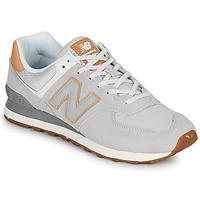 Παπούτσια Άνδρας Χαμηλά Sneakers New Balance 574 Grey / Beige