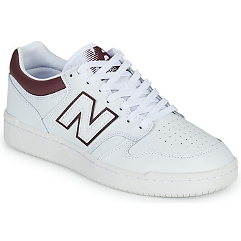 Παπούτσια Άνδρας Χαμηλά Sneakers New Balance 480 Άσπρο / Bordeaux