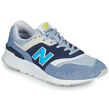 Παπούτσια Γυναίκα Χαμηλά Sneakers New Balance 997 Άσπρο / Μπλέ