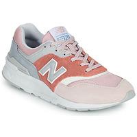 Παπούτσια Γυναίκα Χαμηλά Sneakers New Balance 997 Ροζ / Grey