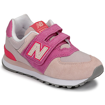 Παπούτσια Κορίτσι Χαμηλά Sneakers New Balance 574 Ροζ / Violet