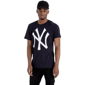 Υφασμάτινα Άνδρας T-shirt με κοντά μανίκια New-Era MLB New York Yankees Μπλε