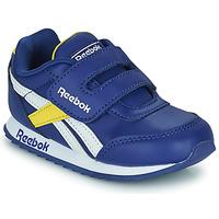 Παπούτσια Παιδί Χαμηλά Sneakers Reebok Classic REEBOK ROYAL CLJOG 2  KC Μπλέ / Yellow / Άσπρο