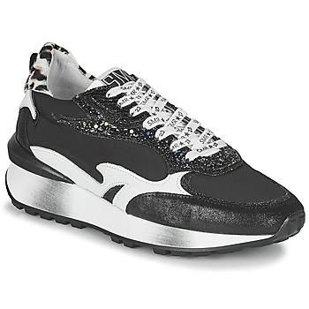 Παπούτσια Γυναίκα Χαμηλά Sneakers Semerdjian MARI Black / Άσπρο