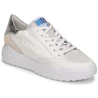 Παπούτσια Γυναίκα Χαμηλά Sneakers Semerdjian TANY Άσπρο / Silver