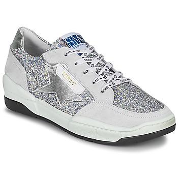 Παπούτσια Γυναίκα Χαμηλά Sneakers Semerdjian CHLO Silver / Beige