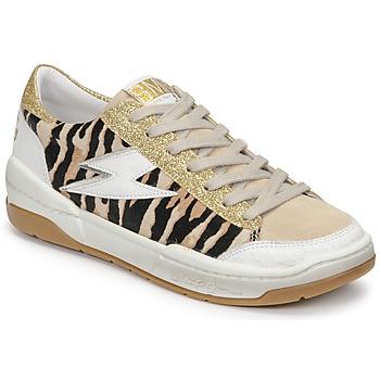 Xαμηλά Sneakers Semerdjian THEO ΣΤΕΛΕΧΟΣ: Δέρμα / ύφασμα & ΕΠΕΝΔΥΣΗ: Δέρμα χοίρου & ΕΣ. ΣΟΛΑ: Δέρμα χοίρου & ΕΞ. ΣΟΛΑ: Καουτσούκ