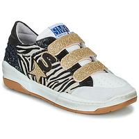 Παπούτσια Γυναίκα Χαμηλά Sneakers Semerdjian GOETH Black / Άσπρο / Gold