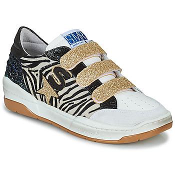 Xαμηλά Sneakers Semerdjian GOETH ΣΤΕΛΕΧΟΣ: Δέρμα / ύφασμα & ΕΠΕΝΔΥΣΗ: Δέρμα χοίρου & ΕΣ. ΣΟΛΑ: Δέρμα χοίρου & ΕΞ. ΣΟΛΑ: Καουτσούκ