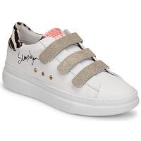 Παπούτσια Γυναίκα Χαμηλά Sneakers Semerdjian BARRY Άσπρο / Gold