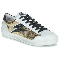 Παπούτσια Γυναίκα Χαμηλά Sneakers Semerdjian ELISE Beige / Gold / Black