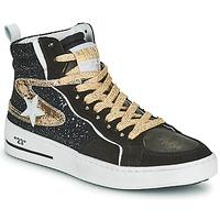 Παπούτσια Γυναίκα Ψηλά Sneakers Semerdjian MARAL Black / Gold