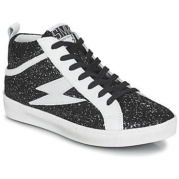 Παπούτσια Γυναίκα Ψηλά Sneakers Semerdjian ALFA Black / Άσπρο