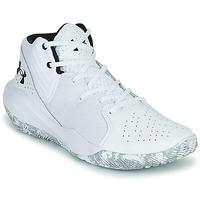 Παπούτσια Άνδρας Basketball Under Armour JET '21 Άσπρο / Άσπρο