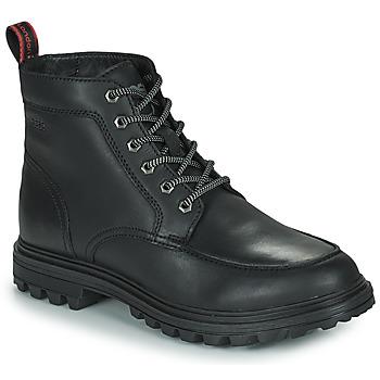 Παπούτσια Άνδρας Μπότες Base London ROCHDALE Black