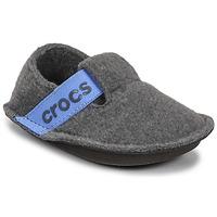 Παπούτσια Παιδί Παντόφλες Crocs CLASSIC SLIPPER K Grey / Μπλέ