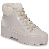 Παπούτσια Γυναίκα Μπότες Melissa MELISSA FLUFFY SNEAKER AD Beige / Άσπρο
