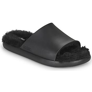 Παπούτσια Γυναίκα σαγιονάρες Melissa MELISSA FLUFFY SIDE AD Black