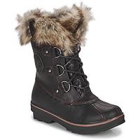 Παπούτσια Γυναίκα Snow boots Kimberfeel CAMILLE Black