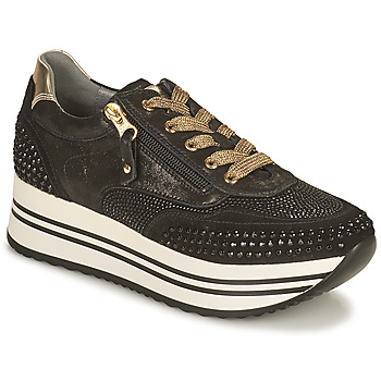 Παπούτσια Γυναίκα Χαμηλά Sneakers NeroGiardini CAROTTO Black