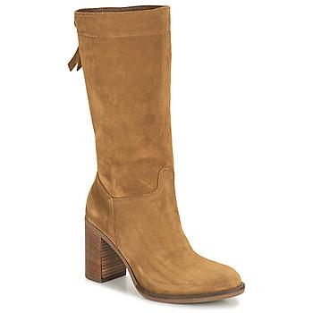 Παπούτσια Γυναίκα Μπότες για την πόλη NeroGiardini CITROUILLO Cognac