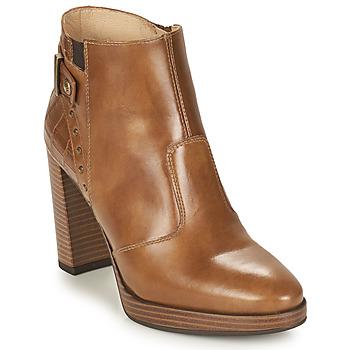 Παπούτσια Γυναίκα Μποτίνια NeroGiardini DAIKONO Cognac