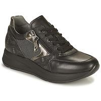 Παπούτσια Γυναίκα Χαμηλά Sneakers NeroGiardini GIROMONO Black