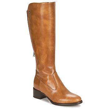 Παπούτσια Γυναίκα Μπότες για την πόλη NeroGiardini FEVO Cognac