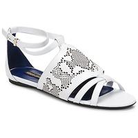 Παπούτσια Γυναίκα Σανδάλια / Πέδιλα Roberto Cavalli TPS918 Άσπρο