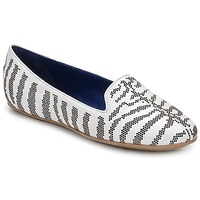 Παπούτσια Γυναίκα Μοκασσίνια Roberto Cavalli TPS648 Άσπρο