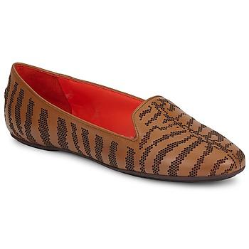 Παπούτσια Γυναίκα Μοκασσίνια Roberto Cavalli TPS648 Brown