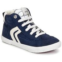 Παπούτσια Αγόρι Ψηλά Sneakers Geox KIWI BOY Marine