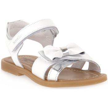 Παπούτσια Κορίτσι Σανδάλια / Πέδιλα NeroGiardini NERO GIARDINI 707 TIGRI BIANCO Bianco