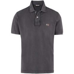 Υφασμάτινα Άνδρας T-shirts & Μπλούζες Napapijri N0YHDX Γκρί