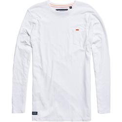 Υφασμάτινα Άνδρας T-shirts & Μπλούζες Superdry M60000MR λευκό