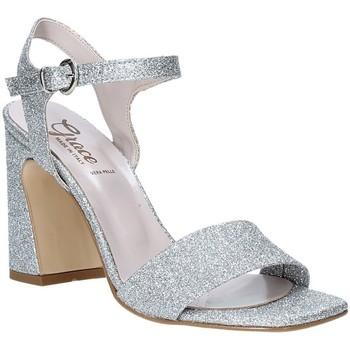 Παπούτσια Γυναίκα Σανδάλια / Πέδιλα Grace Shoes 2384002 Ασήμι