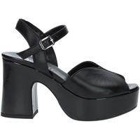 Παπούτσια Γυναίκα Σανδάλια / Πέδιλα Grace Shoes TETY Μαύρος