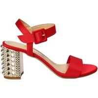Παπούτσια Γυναίκα Σανδάλια / Πέδιλα Grace Shoes 1490 το κόκκινο