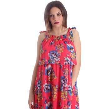 Υφασμάτινα Γυναίκα Φορέματα Gaudi 911FD15039 Ροζ