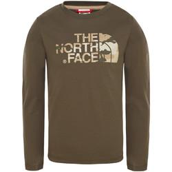 Υφασμάτινα Παιδί T-shirts & Μπλούζες The North Face T93S3B Πράσινος