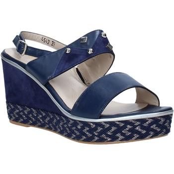 Παπούτσια Γυναίκα Σανδάλια / Πέδιλα Melluso HR70814 Μπλε