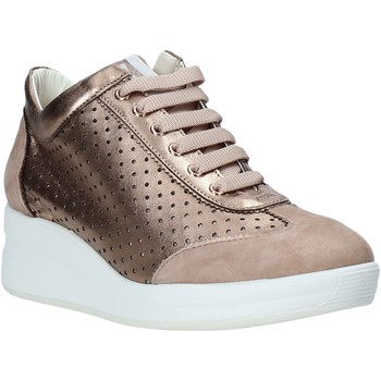 Παπούτσια Γυναίκα Χαμηλά Sneakers Melluso HR20221 Ροζ