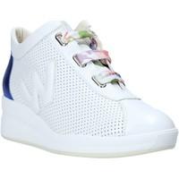 Παπούτσια Γυναίκα Χαμηλά Sneakers Melluso HR20220 λευκό