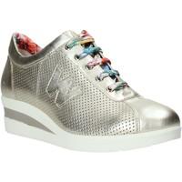 Παπούτσια Γυναίκα Χαμηλά Sneakers Melluso HR20110 Χρυσός