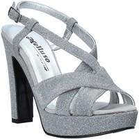 Παπούτσια Γυναίκα Σανδάλια / Πέδιλα Melluso HJ440 Ασήμι