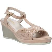 Παπούτσια Γυναίκα Σανδάλια / Πέδιλα Melluso HR70511 Ροζ