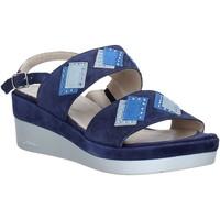 Παπούτσια Γυναίκα Σανδάλια / Πέδιλα Melluso HR70717 Μπλε