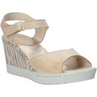Παπούτσια Γυναίκα Σανδάλια / Πέδιλα Melluso H019091 Μπεζ